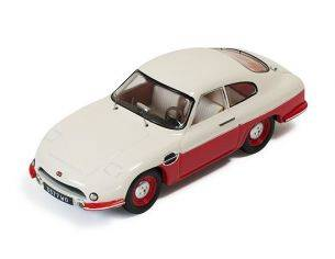 Ixo model CLC264 PANHARD DB HBR5 1957 BEIGE AND RED CLOSED LIGHTS 1:43 Modellino
