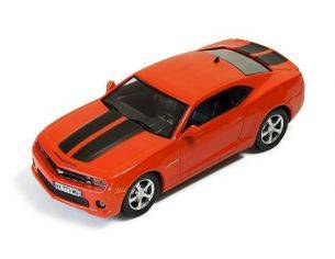 Ixo model MOC173 CHEVROLET CAMARO 2012 METALLIC ORANGE WITH BLACK STRIPES 1:43 Modellino