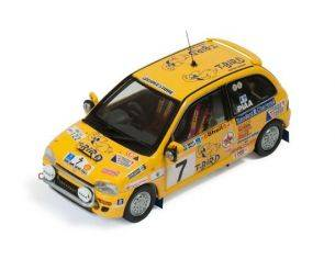Ixo model RAM526 SUBARU VIVIO N.7 WINNER CLASS SAFARI RALLY 1993 P.NJIRU-R.MATHEWS 1:43 Modellino