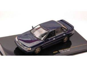 Ixo model CLC226 SUBARU LEGACY 2.0 TURBO RS 1989 BLUE 1:43 Modellino