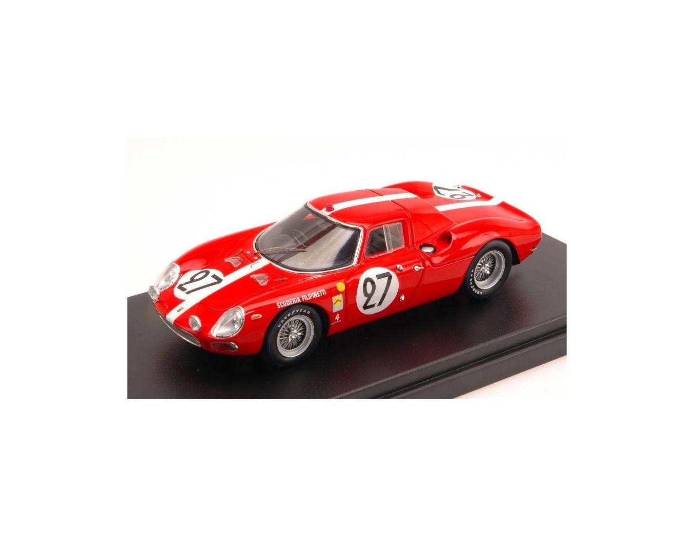 Looksmart Lslm018 Ferrari 250 Lm N 27 6th Lm 1965 D