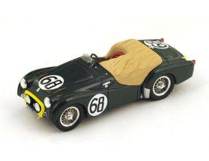 Spark Model S1394 TRIUMPH TR2 N.68 19th LM 1955 L.BROOKE/MORTIMER MORRIS-GOODALL 1:43 Modellino