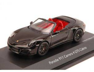 Schuco SH7587 PORSCHE 911 CARRERA 4 GTS CABRIO BLACK 1:43 Modellino