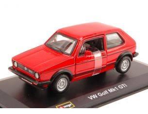 Bburago BU43205R VW GOLF GTI V SERIE 2005 RED 1:32 Modellino
