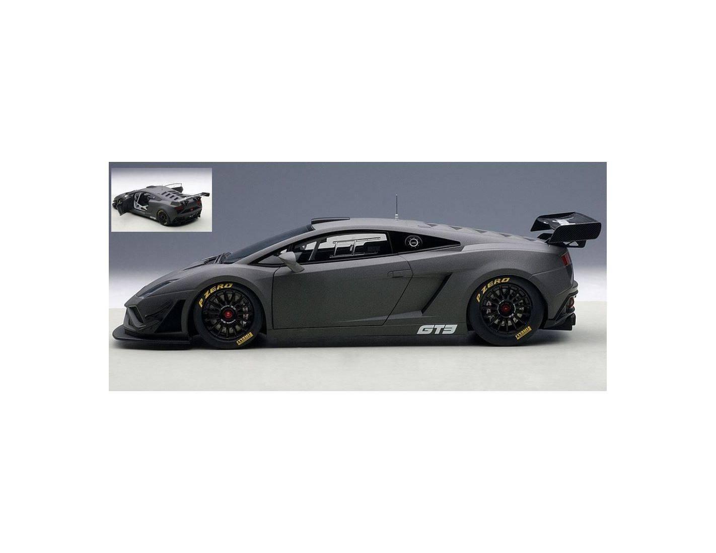 auto 1 18 auto art gateway aa81360 lamborghini gallardo gt3 fl2 2013 grey 1 18 modellino. Black Bedroom Furniture Sets. Home Design Ideas