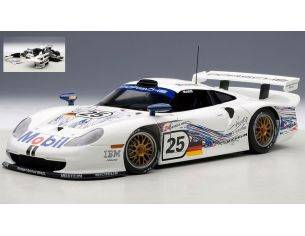 Auto Art / Gateway AA89772 PORSCHE 911 GT1 N.25 ACCIDENT LM 1997 STUCK-BOUTSEN-WOLLEK 1:18 Modellino