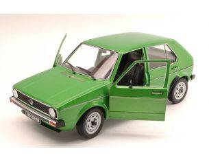 Solido SL1800203 VW GOLF 1 1976 METALLIC GREEN 1:18 Modellino