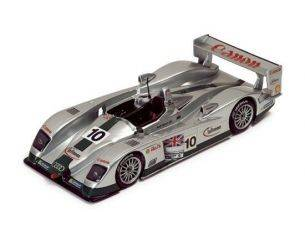 Ixo model LMM051 AUDI R 8 N.10 LE MANS 2003 1:43 Modellino