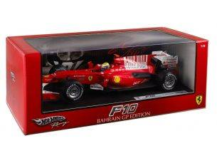 Hot Wheels HWT6288 FERRARI F.MASSA 2010 1:18 Modellino