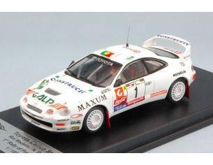 Trofeu TFRRAL30 TOYOTA CELICA N.1 WINNER PORTUGAL 1995 R.MADEIRA-N.R.SILVA 1:43 Modellino