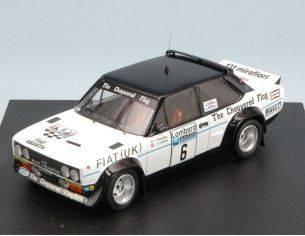 Trofeu TF1427 FIAT 131 ABARTH N.6 11th RAC RALLY 1977 T.MAKINEN-H.LIDDON 1:43 Modellino