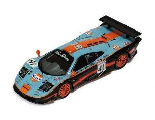Ixo model LMM106 MC LAREN F1 GTR N.41 2nd LM'97 1:43 Modellino
