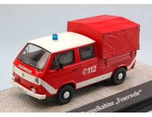 Premium Classixx PREM11529 VW T3A DOPPELKABINE FEUERWEHR 1:43 Modellino
