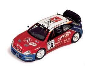 Ixo model RAM120 CITROEN XSARA WRC N.18 2003 1:43 Modellino