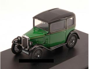 Oxford OXFASS004 AUSTIN SEVEN RN SALOON GREEN/BLACK 1:43 Modellino