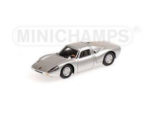 Minichamps PM877065720 PORSCHE 904 GTS 1964 SILVER 1:87 Modellino