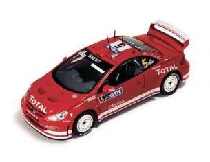 Ixo model RAM152 PEUGEOT 307 WRC N.5 FINLAND'04 1:43 Modellino