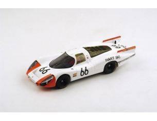 Spark Model S18120 PORSCHE 907/8 TEAM TARTARUGA N.66 2nd LM 1968 STEINEMAN-SPOERRY 1:18 Modellino