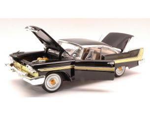 Motormax MTM73115BK PLYMOUTH FURY 1958 BLACK 1:18 Modellino