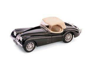 Brumm BM0102-02 JAGUAR XK 120 DROP HEAD 1948 NERO 1:43 Modellino