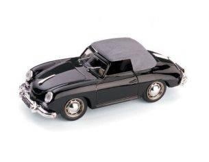 Brumm BM0118-02 PORSCHE 356 SPEEDSTER CHIUSA SOFT TOP 1952 NERO 1:43 Modellino