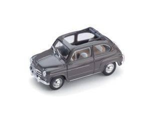 Brumm BM0317-02 FIAT 600 D BERLINA 1960 TRASFORMABILE APERTA BEIGE 1:43 Modellino
