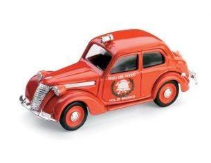 Brumm BM0181B FIAT 1100 E VIGILI DEL FUOCO DI BRUNICO 1947 1:43 Modellino