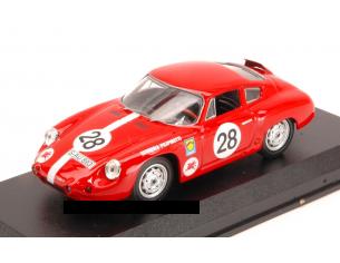 Best Model BT9591 PORSCHE ABARTH N.28 12th (2nd CL.) 1000 KM NURBURG.1963 KRUNIS-SCHILLER Modellino