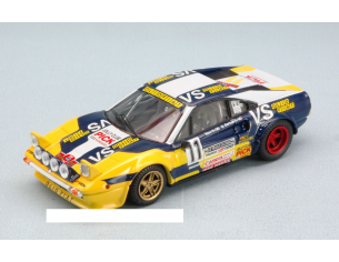 Best Model BT9590 FERRARI 308 GTB N.11 RETIRED R.ISOLA D'ELBA 1980 GROSOLI-BARBAN 1:43 Modellino