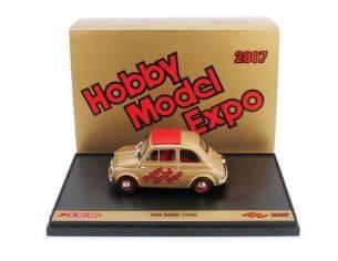 Brumm BMS0717 FIAT 500 D HOBBY MODEL EXPO 2007 1:43 Modellino