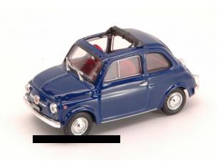 Brumm BM0454-15 FIAT 500 F 1965-72 BLU ORIENTE 1:43 Modellino