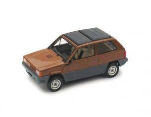 Brumm BM0440-05 FIAT PANDA 45 TETTO APRIBILE CHIUSO 1981 MARRONE LAND 1:43 Modellino