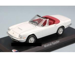 White Box WBS045 MASERATI MISTRAL SPYDER 1963 WHITE 1:43 Modellino