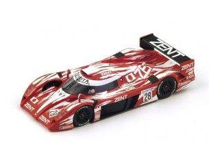 Spark Model S2386 TOYOTA TS20 GT-ONE N.28 ACCIDENT LM 1998 BRUNDLE-HELARY-COLLARD 1:43 Modellino