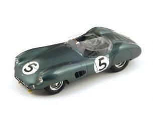 Spark Model S18LM59 ASTON MARTIN DBR1 N.5 WINNER LM 1959 C.SHELBY-R.SALVADORI 1:18 Modellino