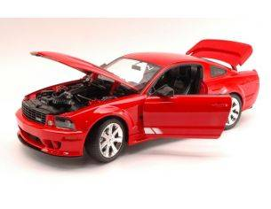 Welly WE2569 SALEEN S281 EXTREME MUSTANG 2008 RED 1:18 Modellino