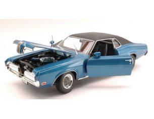 Welly WE2521BL MERCURY COUGAR XR 7 1970 BLUE 1:18 Modellino