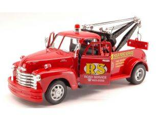 Welly WE2086 CHEVROLET TOW TRUCK 1953 RED 1:24 Modellino