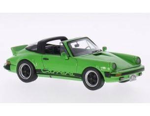 Neo Scale Models NEO43248 PORSCHE 911 CARRERA TARGA USA 1985 GREEN 1:43 Modellino