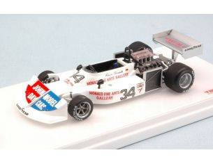 True Scale Miniatures TSM154331 MARCH 761 H.STUCK 1976 4th MONACO GP 1:43 Modellino