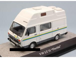 Premium Classixx PREM13376 CAMPER VW LT31 FLORIDA CAMPINGBUS WHITE 1:43 Modellino
