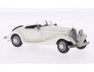 Neo Scale Models NEO45010 MERCEDES TYP 290 ROADSTER (W18) 1936 WHITE 1:43 Modellino