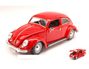 Bburago BU12029R VW KAFER BEETLE 1955 RED 1:18 Modellino