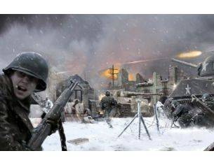 Italeri IT6113 BASTOGNE DECEMBER 1944 DIORAMA SET KIT 1:72 Modellino