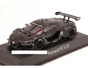 Norev NV517691 RENAULT R.S.01 2014 TEST BLACK VERSION 1:43 Modellino