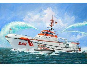 Revell RV5220 SEARCH & RESCUE VESSEL HERMANN MARWEDE KIT 1:72 Modellino