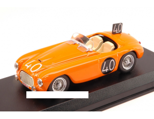 Art Model AM0204-2 FERRARI 166 MM SPIDER N.40 8th 24H SPA 1949 ROOSDORP-DE RIDDER 1:43 Modellino