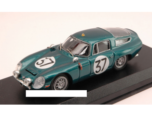 Best Model BT9596 ALFA ROMEO TZ1 N.37 LE MANS TEST 1964 BUSSINELLO-BISCALDI 1:43 Modellino
