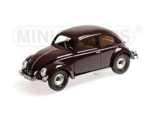 Minichamps PM107054002 VW 1200 1949 BROWN 1:18 Modellino
