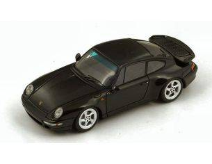 Spark Model S4476 PORSCHE 993 TURBO 1996 BLACK 1:43 Modellino